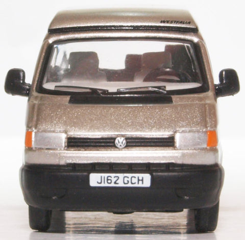Oxford Diecast VW T4 Westfalia Camper Silver Grey