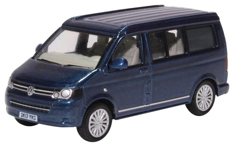 Oxford Diecast VW T5 California Camper Metallic Night Blue
