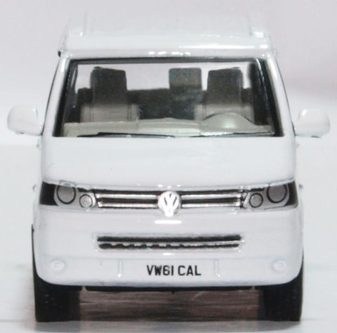 Oxford Diecast VW T5 California Camper Candy White