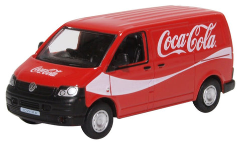 Oxford Diecast VW T5 Van Coca Cola