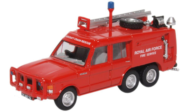 Oxford Diecast TACR2 Raf St. Mawgan (red)