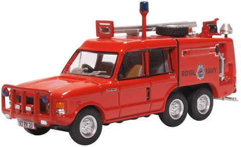 Truck Fire-Fighting Airfield Crash Rescue Mark 2 Range Rover (TACR2) - RNAS Yeovilton (1:76)