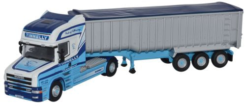 Oxford Diecast Scania T Topline Tipper Tinnelly - 1:76 Scale