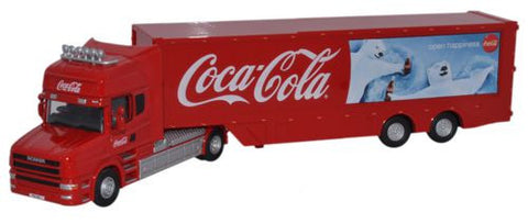 Oxford Diecast Coca Cola Polar Bears - 1:76 Scale