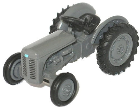 Oxford Diecast Grey Ferguson TEA Tractor - 1:76 Scale