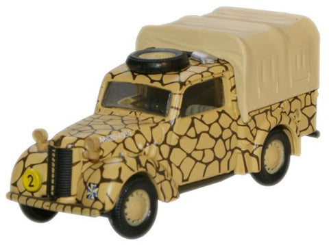 Oxford Diecast Light AA Brigade _ RA Malta 1942 Austin Tilly - 1:76 Sc
