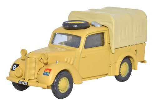 Oxford Diecast Austin Tilly GHQ Land Forces - 1:76 Scale