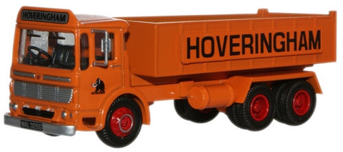 Oxford Diecast Hoveringham AEC Ergomatic 6 Wheel Tipper - 1:76 Scale