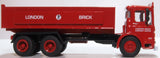 Oxford Diecast Aec Ergomatic Tipper London Brick Company