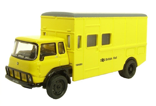 Oxford Diecast British Rail Yellow - 1:76 Scale
