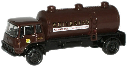 Oxford Diecast Whitbread Bedford TK Tanker - 1:76 Scale
