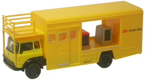 Oxford Diecast British Rail TK Emergency Bridging Unit - Open - 1:76 S