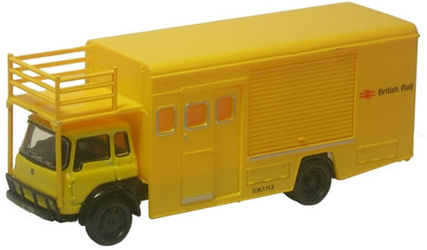 Oxford Diecast British Rail TK Emergency Bridging Unit - Closed - 1:76