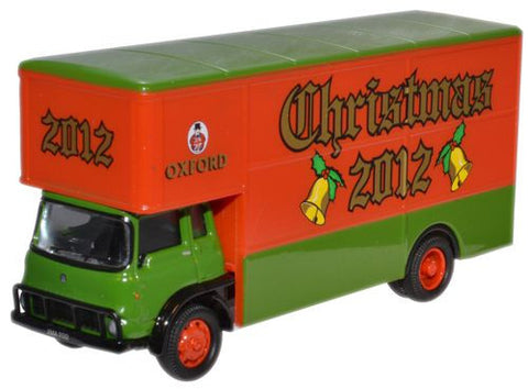 Oxford Diecast Xmas Model 2012 Bedford TK - 1:76 Scale