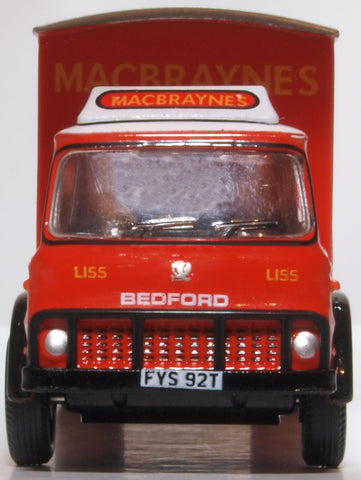 Oxford Diecast Bedford TK Box Van Macbraynes
