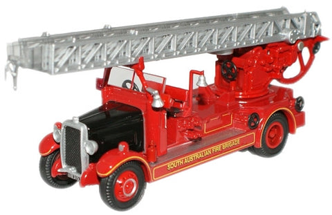 Oxford Diecast South Australia Leyland TLM Fire Engine - 1:76 Scale