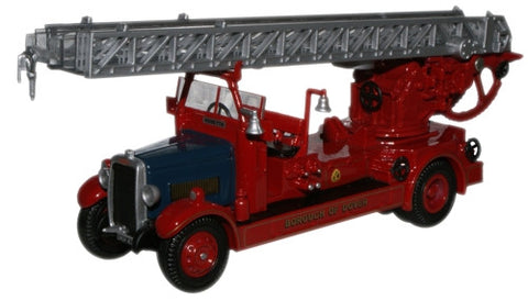 Oxford Diecast Borough of Dover Leyland TLM Fire Engine - 1:76 Scale