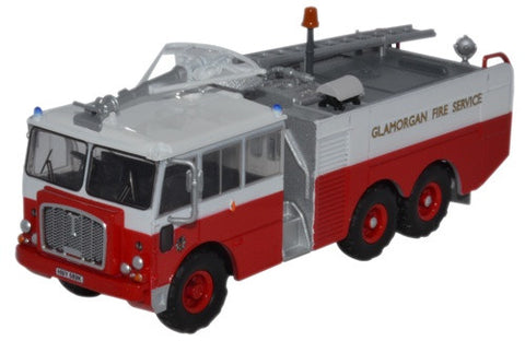 Oxford Diecast Thornycroft Nubian Major Glamorgan Fire Service - 1:76