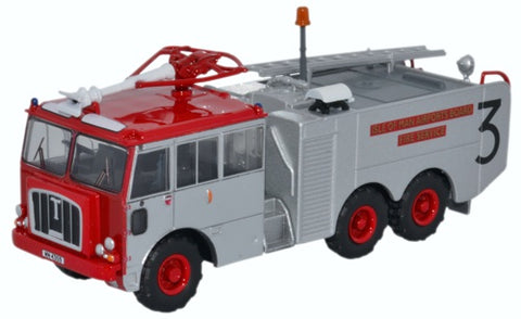 Oxford Diecast Thornycroft Nubian Isle Of Man Airports Board Fire