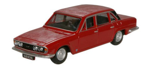 Oxford Diecast Signal Red Triumph 2500 - 1:76 Scale
