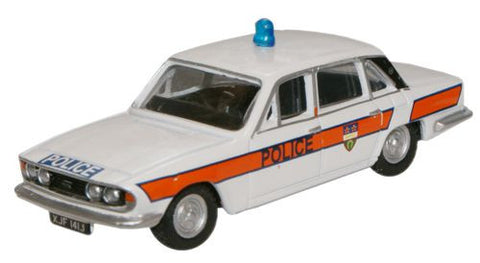 Oxford Diecast Leicestershire Constabulary Triumph 2500 - 1:76 Scale