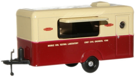 Oxford Diecast British Rail Mobile Soil Testing Laboratory - 1:76 Scal