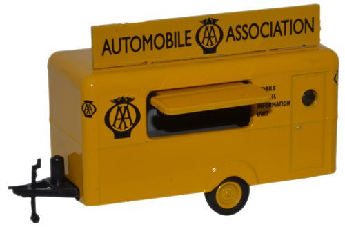 Oxford Diecast Mobile Trailer AA - 1:76 Scale