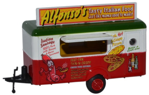 Oxford Diecast Mobile Trailer Alphonsos