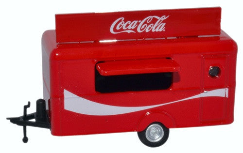 Oxford Diecast Mobile Trailer Coca Cola