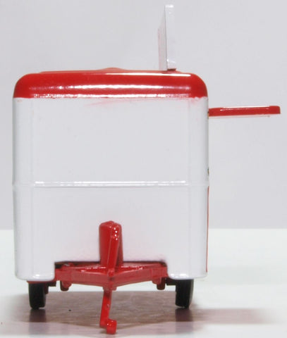 Oxford Diecast Popcorn Mobile Trailer 1:76 Scale