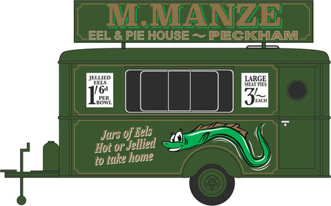 Oxford Diecast Mobile Trailer M.Manze Jellied Eels