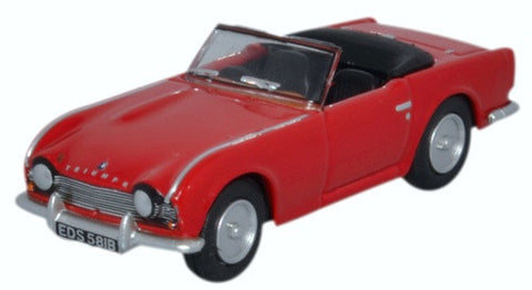 Oxford Diecast Triumph TR4 Signal Red