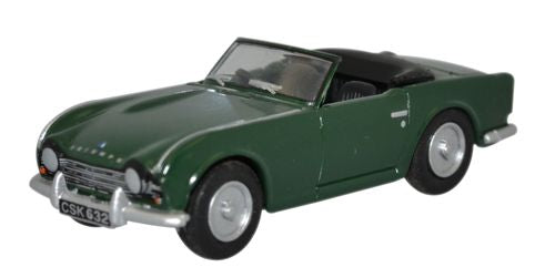 Oxford Diecast Triumph TR4 British Racing Green