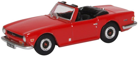 Oxford Diecast Triumph TR6 Signal Red