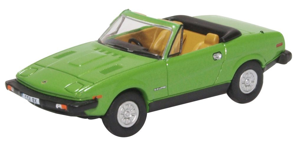 Triumph Tr7 Convertible Triton Green By Oxford Diecast 176 Scale
