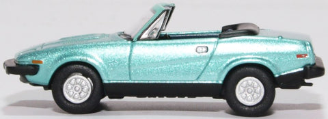 Oxford Diecast Triumph TR7 Convertible Persian Aqua Metallic