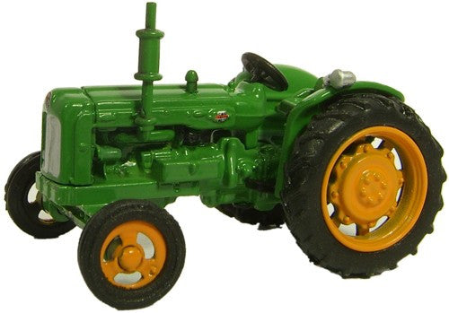 Oxford Diecast Fordson Tractor Green - 1:76 Scale