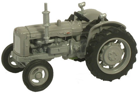 Oxford Diecast Matt Grey Fordson Tractor - 1:76 Scale