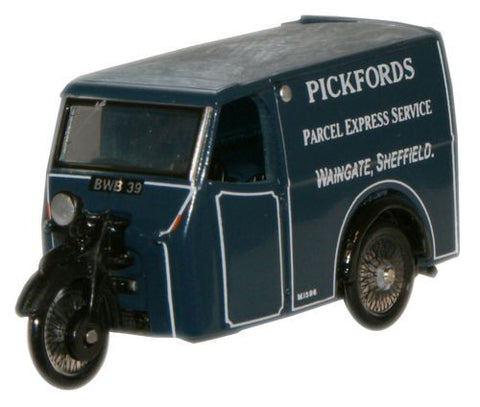 Oxford Diecast Pickfords Tricycle Van - 1:76 Scale