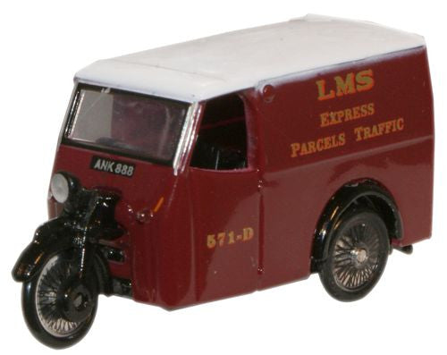 Oxford Diecast LMS Tricycle Van - 1:76 Scale