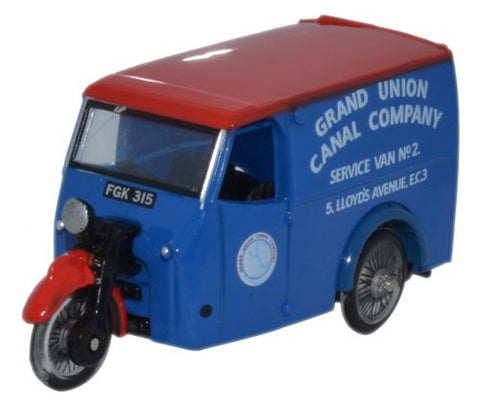 Oxford Diecast Tricycle Van Grand Union Canal Company - 1:76 Scale