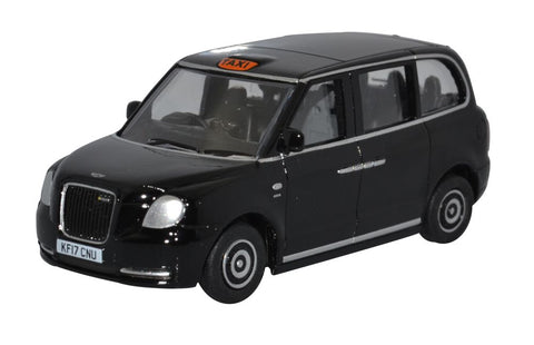 Oxford Diecast LEVC Electric Taxi Black