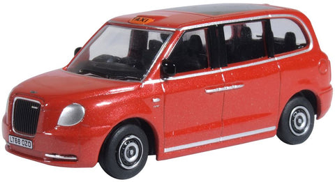 Oxford Diecast Tupelo Red LEVC TX Taxi