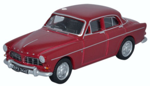 Oxford Diecast Volvo Amazon Cherry Red - 1:76 Scale