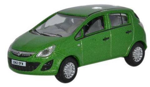 Oxford Diecast Lime Green  Vauxhall Corsa - 1:76 Scale