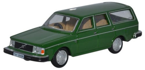 Oxford Diecast Volvo 245 Estate Green - 1:76 Scale