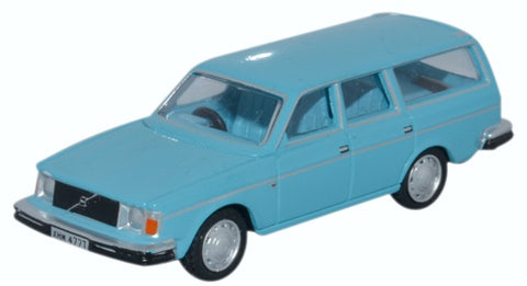 Oxford Diecast Volvo 245 Estate Light Blue