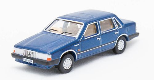 Oxford Diecast Volvo 760 Blue Metallic