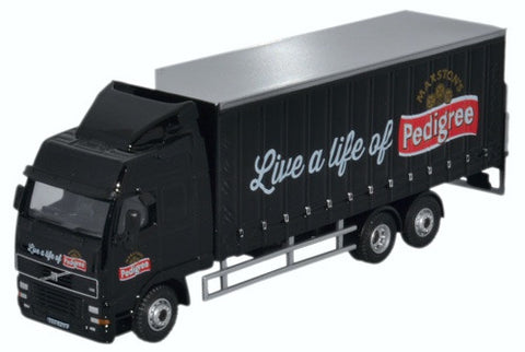 Oxford Diecast Marstons Volvo FH Curtainside Lorry