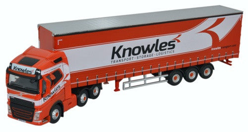 Oxford Diecast Curtainside Knowles